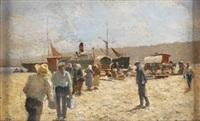 escena de puerto by tomas campuzano y aguirre