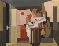 soleil couchant by louis marcoussis