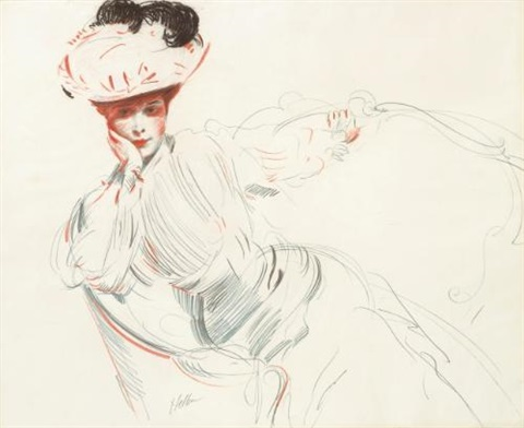 portrait de madame helleu by paul césar helleu