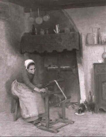 l'echeveau (the skein) by joseph bulfield