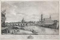 perspective du pont de dresde sur l elbe by bernardo bellotto