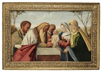 the circumcision, after giovanni bellini, italian, 1425 - 1516 by vincenzo catena