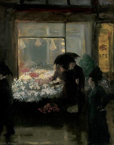 easter eve by john french sloan
