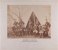 photograph of gen. pleasonton and staff by alexander gardner