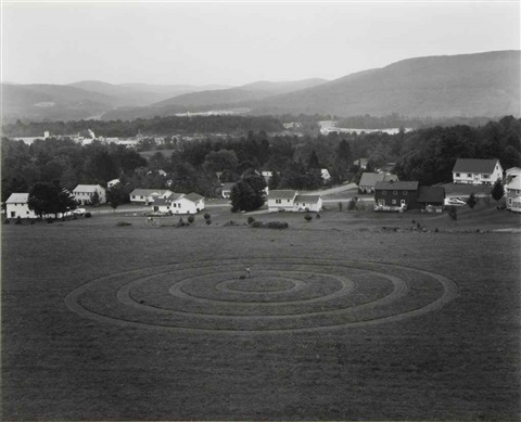 untitled concentric circles from hover by gregory crewdson
