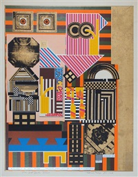 artificial sun (from as is when, die im verlag der londoner editions alecto erschien) by sir eduardo paolozzi