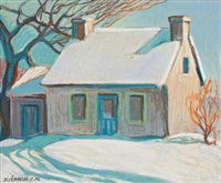 house near ottawa by frank charles hennessey