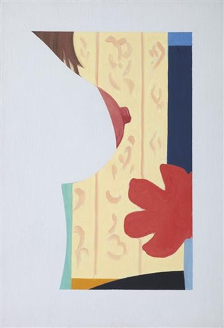 study for bedroom painting 48 by tom wesselmann