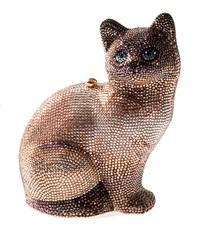 bolsa gato by judith leiber