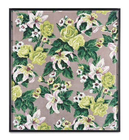 big print 5 fazenda lily gray background cotton fall design dorothy draper courtesy schumacher co by annette kelm