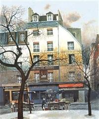 place contrescape by andré renoux