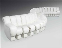 non stop sofa (model ds-600) by eleonora peduzzi riva, heinz ulrich, klaus vogt and ueli berger