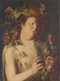 bacchus by peter wtewael