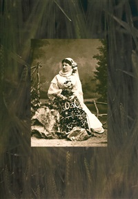 a lady from the town wearing a traditional costume by peter jacobi