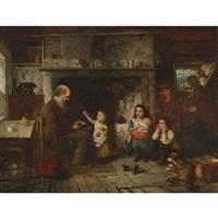 the benevolent cottagers by john thomas peele