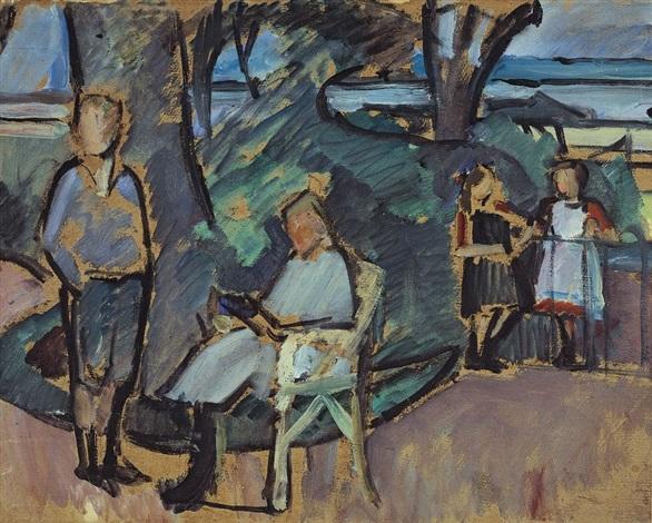 kindergruppe im park by franz nölken