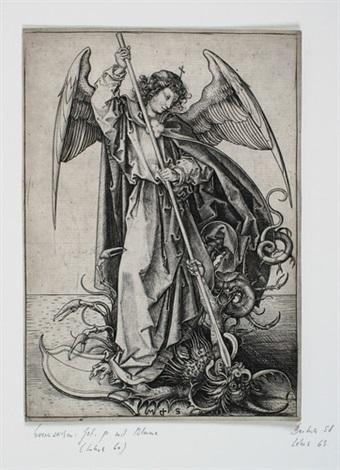 der heilige michael by martin schongauer