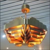 lustre hexagonal, modèle osaka by jules wabbes