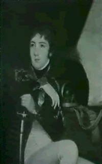 portrait of major carlo joseph doyle (b. 1787) by robert home