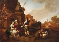the levite and his concubine in gibeah by jan van noordt