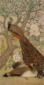 peacocks by ayzo epeus van humalda van eysinga