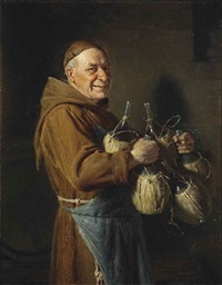 the happy monk by eduard von grützner