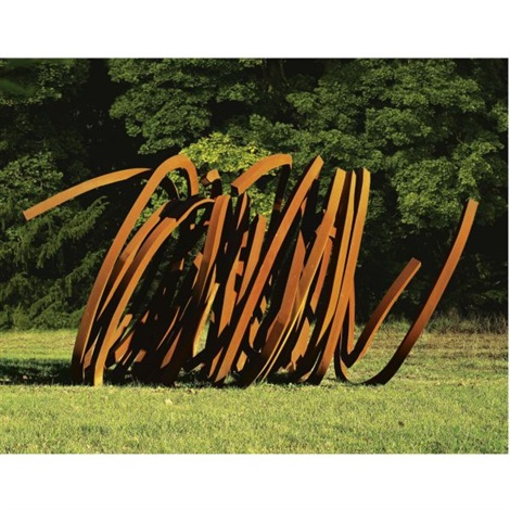 four indeterminate lines by bernar venet