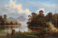 southern lake scene by james peele