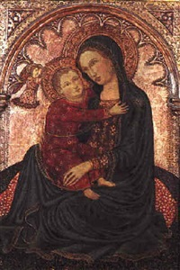 the madonna of humility by andrea vanni