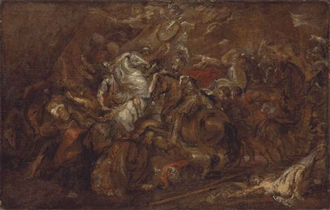 henry iv at the battle of ivry by sir peter paul rubens