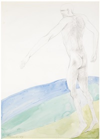 walking man by elisabeth frink