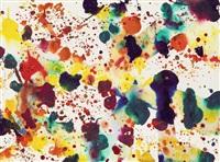 ohne titel (sf73-083) by sam francis