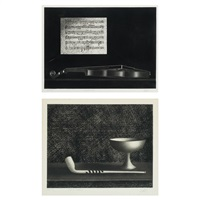 pipe et coupelle; ballade et violin (2 works) by mario avati