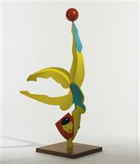acrobat sculpture ii by allen jones