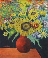 bouquet de fleurs by élisée maclet