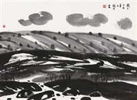 清云 by liu dezhou