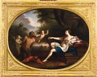venere, fauno e amorini by filippo lauri