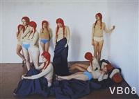 vb 39 - vb 35 - vb 08 - vb 16 (set of 5) by vanessa beecroft