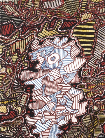 personnage eg 1 by jean dubuffet