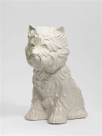 puppy blumenvase by jeff koons