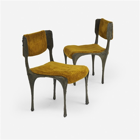 Dining Chairs Model Pe 105 (set Of 6) By Paul Evans