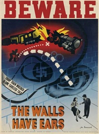 beware/the walls have ears by jac leonard