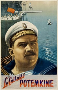 potemkine by posters: propaganda