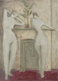 untitled (standing figures) by mark rothko