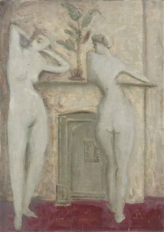 untitled standing figures by mark rothko