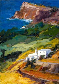 view of andros by vassilis kolokythas