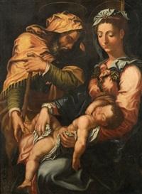 la sainte famille by giorgio vasari