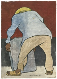 stoneworker by diego rivera