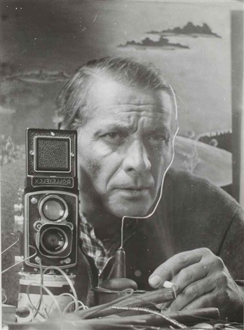 self portrait by heinz hajek halke