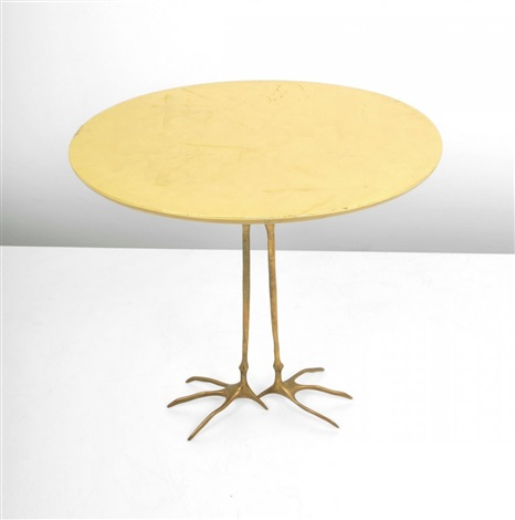 traccia occasional table from the ultramobile collection by meret oppenheim